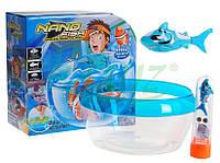 """Детская игра для ванной """"Рыбка с аквариумом"""" JH6603, интерактивная игрушка RoboFish, игрушка РобоРыбка"""