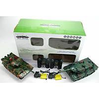 """Танковый бой """"Мир танков"""" с зарядным устройством 2 шт., детский танк на пульте управления, танк игрушечный"""