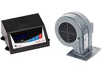 Комплект автоматики для твердотопливных котлов KG Elektronik SP-05 LED + вентилятор DP 02