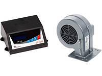 Комплект автоматики для твердотопливных котлов KG Elektronik SP-10 2P  + вентилятор DP 02