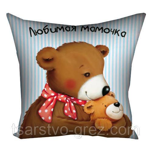 Подушка Любимая мамочка