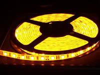 Светодиодная лента 220В, 3528 YELLOW 60LEDS/meter (3528-60-220V-B YELLOW)