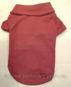 Рубашка - поло для собак, размер XS, красный