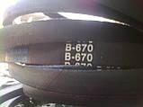 Приводной ремень 670 мм В(Б)-670 Basis, фото 2