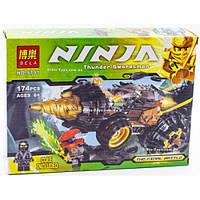 Конструктор Ninja 9791 Земляной бур Коула Мощный автомобиль 174 деталей