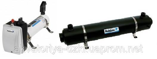 Теплообмінники-нагрівачі води в басейні
