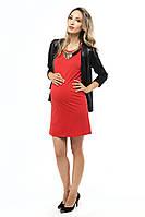 Платье миди — Красное, фото 1
