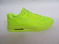 Кроссовки женские Nike Air Max сетка, салатные (найк аир макс)р.38