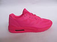 Кроссовки женские Nike Air Max сетка, малиновые (найк аир макс)р.36,37,38