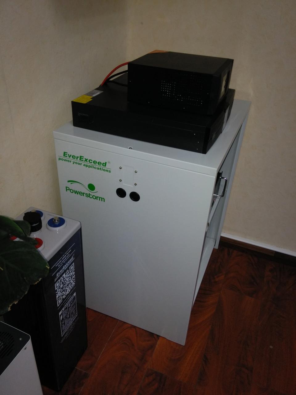 Шкаф для аккумуляторов Cabinet for 16хST-1280 (16 акб 12В 80Ач)