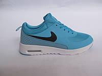 Кроссовки женские Nike Air Max сетка, голубые (найк аир макс)(р.36,37)