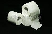 Туалетная бумага белая двухслойная в рулонах
