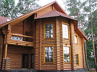 Евроокно деревянное с накладными деревянными шпросами