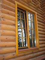 Евроокна для деревянного домостроения