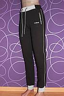 Женские спортивные штаны хорошего качества, черные