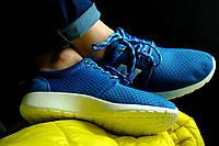 Кроссовки летние голубые