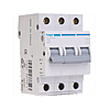 Автоматический выключатель Hager MC316A In=16А, 3п, С, 6 kA, 3м