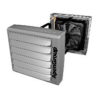 Водяной воздухонагреватель предназначен для обогрева зданий промышленного типа AERMAX