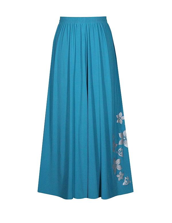 Длинная юбка солнце Цветы