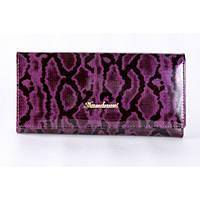 Женский кошелек Fuerdanni  натуральная кожа фиолетовый цвет