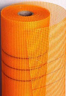 Сетка фасадная BUDOWA (5*5 мм) 160г/м2  Оранжевая