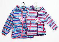 Курточка детская весенняя теплая  для девочки. №8373, фото 1