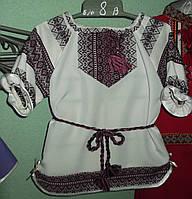 """Бордове плаття для дівчинки """"Гуцулка"""""""