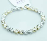 Нежный женский браслет Xuping. Недорогие браслеты оптом. 49