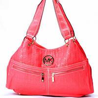Женская сумка Michael Kors малиновая
