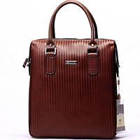Мужская сумка EARLCAT  бордово-коричневая