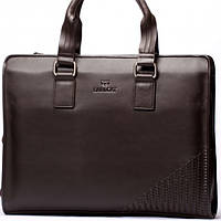 Мужская сумка портфель EARLCAT  коричневая