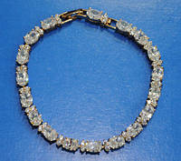 Изысканный браслет Xuping. Позолоченная бижутерия оптом. 51