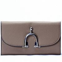 Женский кошелек серого цвета, фото 1