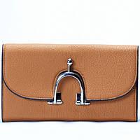 Женский кошелек светло  коричневый, фото 1
