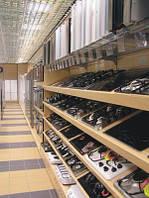Новый стеллаж под встраиваемую технику газовые плиты в магазин бытовой техники. Торговое оборудование, фото 1
