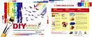 Картина-раскраска DIY Babylon Триптих Очарование Прованса (VPT008) 50 х 150 см, фото 2