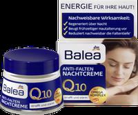 Ночной крем против морщин с Сафлоровым маслом Balea  Q10 Anti-Falten Nachtcreme 50 мл