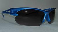 Очки Oakley HALF JACKET синяя оправа - черные стекла