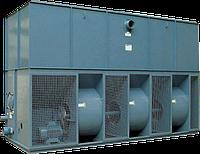 Испарительные конденсаторы серии CFR передают избыточное тепло от охлаждаемой жидкости