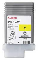 Картридж Canon PFI-102Y  (yellow) для iPF500/600/ 605/610/700/710/720/LP17/LP24