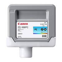 Картридж Canon PFI-306PC (photo cyan) для iPF8400/9400