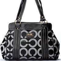 Женская сумка в стиле Coach 96008 черная