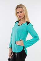 Блуза женская свободного кроя из креп- шифона