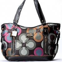 Женская сумка Coach  черная