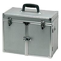 """Кейс для инструмента """"Theatro"""" алюминиевый,с распахивающимися дверцами"""