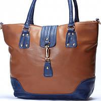 Женская сумка Gucci коричневый с синим