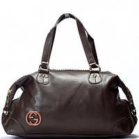Женская сумка Gucci  кофейного цвета