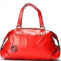 Женская сумка Gucci  красная