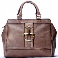 Коричневая сумка Gucci цвета хаки