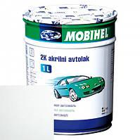 Автоемаль акриловая 040 TOYOTA БЕЛАЯ (MOBIHEL) 1л